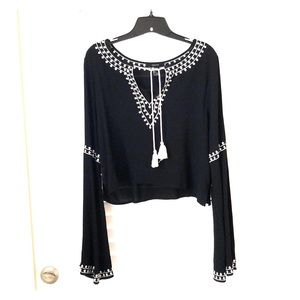 Forever 21 Bohemian Style Top